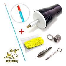 Flecha Arpón Para Bowfishing - Pesca Con Arco - Kit Completo