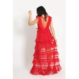 Vestido Maxi Julieta Rojo