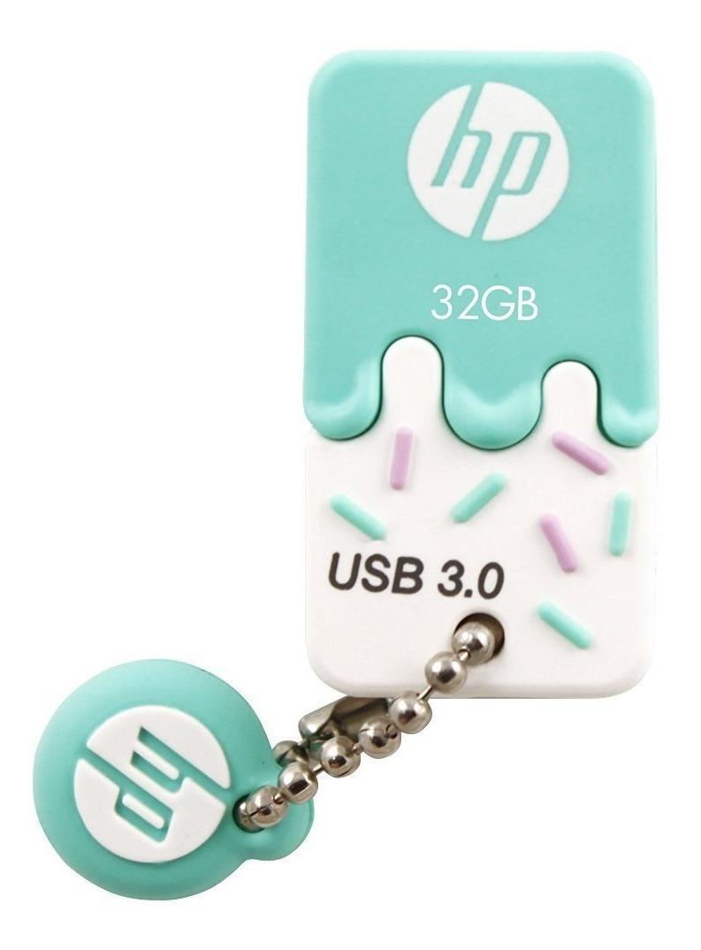 Pendriver Llavero Hp 32gb Usb 3.1 Real Veloz Nano Mini 3.0