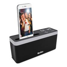 Parlante Portátil Kolke Bluetooth Kpp-261 Play 6w Usb Sd Fm