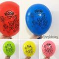 5 globos paw patrol surtidos sin inflar 12 pulgadas