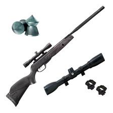 Rifle Aire Comprimido Gamo Black Bull Igt Mach1 Nitro + Mira