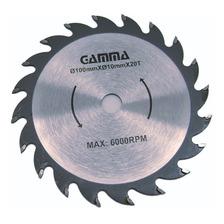 Disco Hoja 100 Mm P/ Sierra Circular A Bateria Gamma Hg104