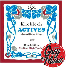 Encordado Knobloch 400 Qz  Para Guitarra Clasica High Nylon