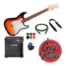 Guitarra Eléctrica + Amplificador De 10w + Funda + Regalos