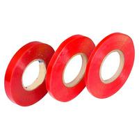 Fita dupla-face incolor com liner vermelho 19 mm x 50 m