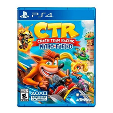 Ctr Crash Team Racing Nitro | Ps4 | Fisico Sellado Nuevo Original