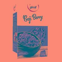 Goji Berry Fruta Desidratada - Giroil 150g