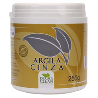 Argila Cinza em po - 250g - Dermaclean