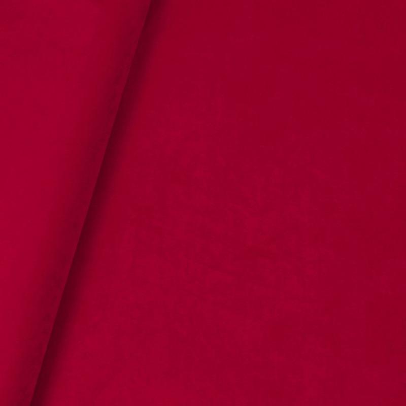 Tecido veludo real vermelho Coleção New York IV