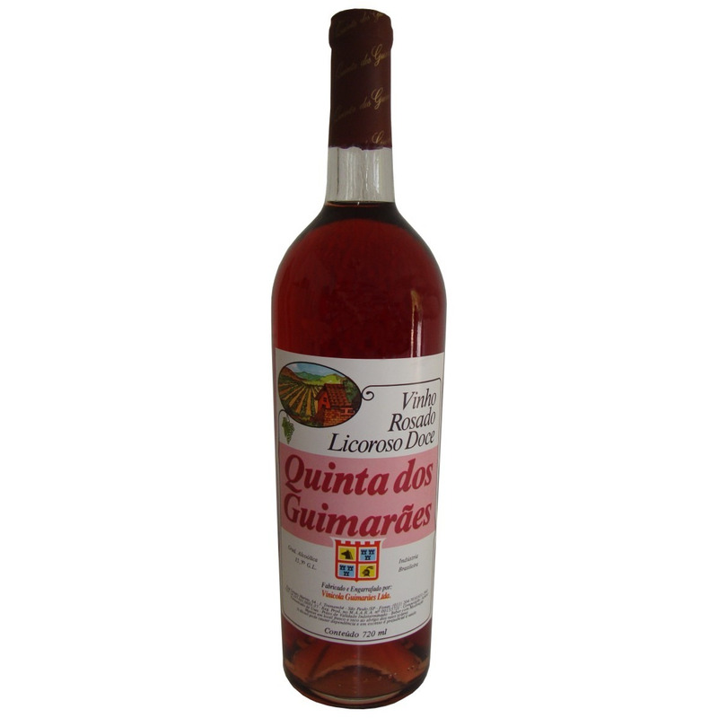 Vinho Rosado Licoroso Doce Izabel/Bordô 720ml - Quinta dos Guimarães