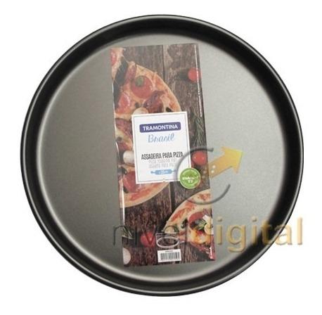 Set X4 Pizzera Tramontina 35cm   Teflon