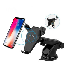 Soporte Cargador Auto Fast Wireless Charger iPhone Samsung