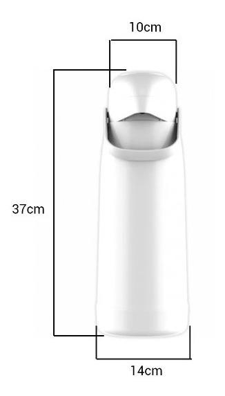 Termo Termolar Bomba Magic Pump Frio Calor 1 8 Lts Diseño