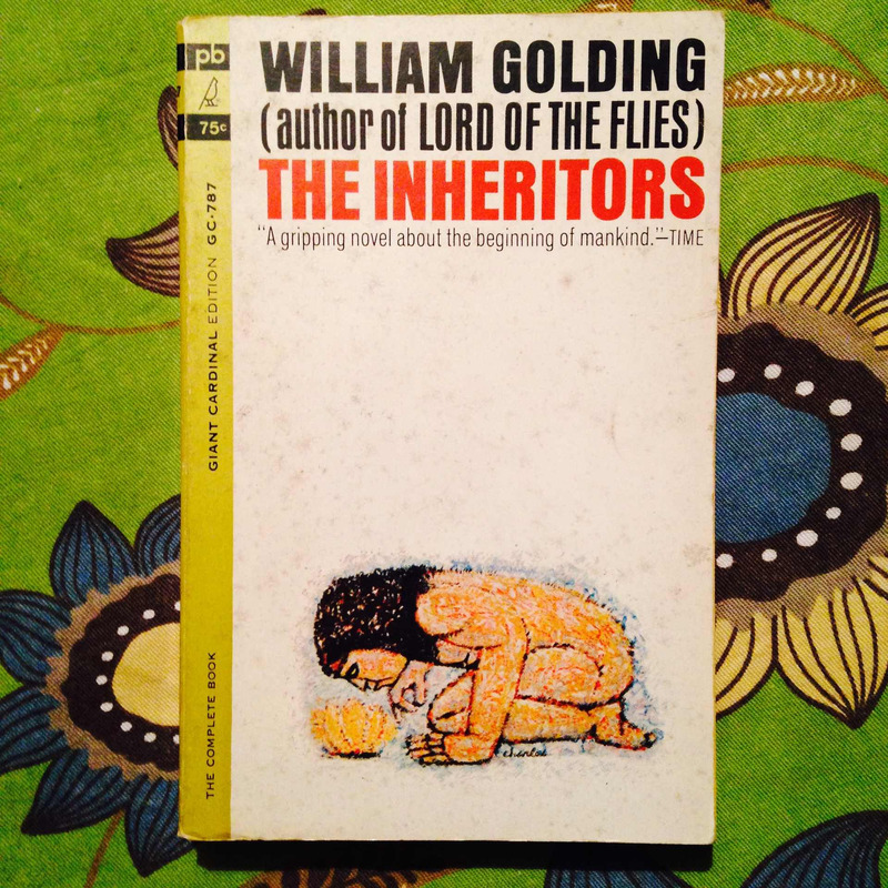 William Golding.  THE INHERITORS.