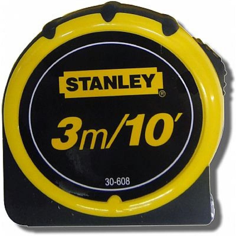 Trena Métrica Global Plus 3m - Stanley - 30-608