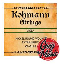 Encordado Cuerdas Para Viola Kohmann Kva0116 Orquesta