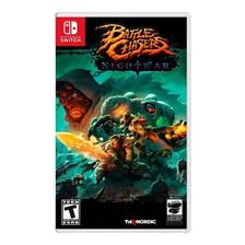 Battle Chasers Nightwar Nintendo Switch Fisico Sellado
