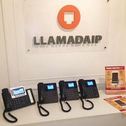 4 Teléfonos IP con líne...