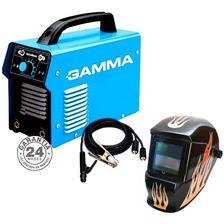 Soldadora Inverter Arc 200 Amp Gamma + Máscara Fotosensible