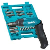 Kit Parafusadeira à Bateria Dobrável 3.6V + 81 Acessórios -