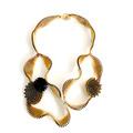 Panal Collar Mega Corto - Baño de Oro