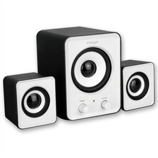 Parlantes Usb 2.1 Sp-2050 Noganet Pc Notebook 11w Woofer
