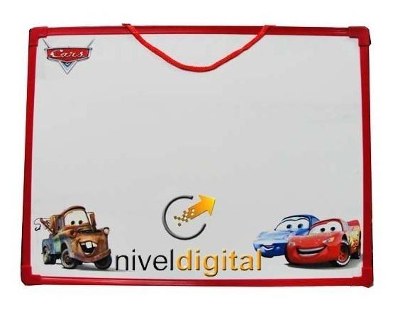 Pizarra Magnetica 40x30 Ben 10 Cars Mickey Pooh + Abecedario