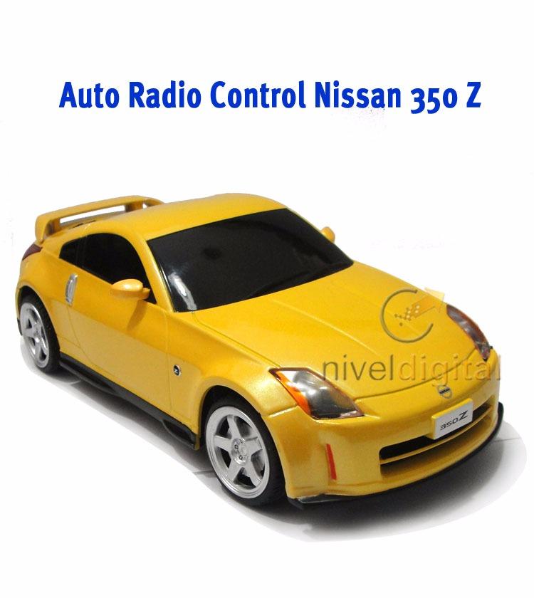 Auto Nissan 350 Z Licencia 1/ 24 Radio Control Full Fuction