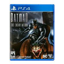 Batman The Enemy Within Telltale Ps4 Fisico Sellado