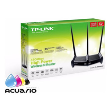Router Repetidor Tp Link Tl-wr941hp Rompe Muros 1w 9dbi 450