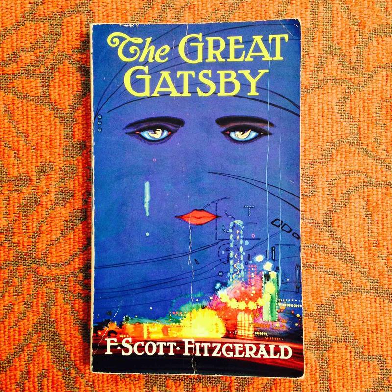F. Scott Fitzgerald.  THE GREAT GATSBY.