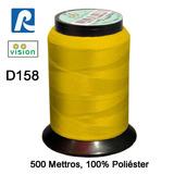 Linha Vision Amarelo 100% Poliéster, 300m