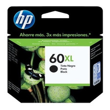 Cartucho Original Hp 60xl Negro D1660 F4480 C4680 C4780