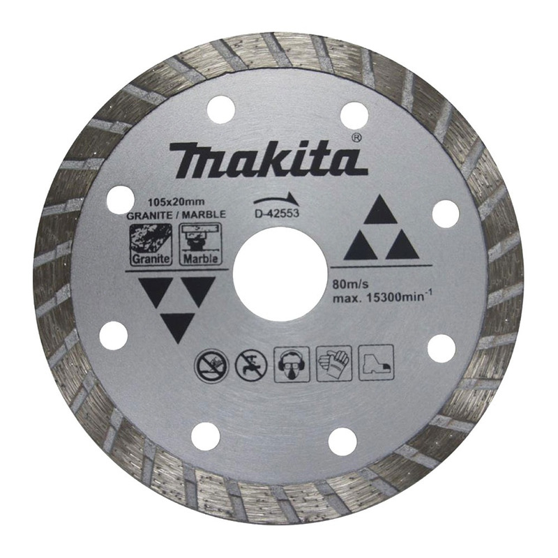 DISCO DIAMANTADO D 42553 T(032026) - Makita - 105X20MM