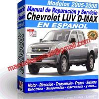 Manual de Reparacion Taller Chevrolet LUV D-MAX 2005 2006 2007 2008