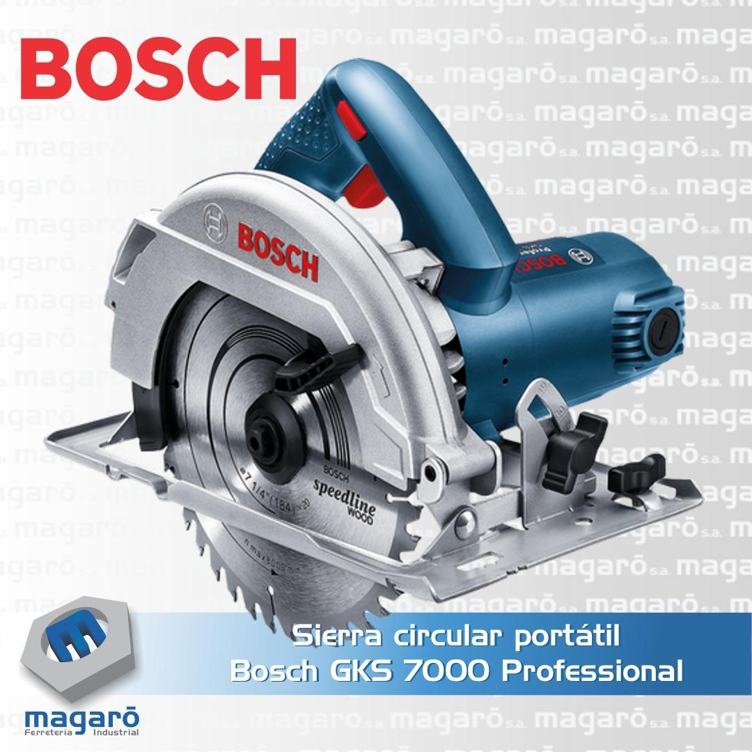 Sierra circular portátil Bosch GKS 7000 Professional
