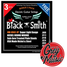 Encordado Black Smith Nw-0942 Guitarra Eléctrica 09 - 042