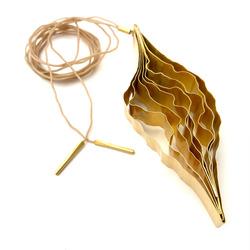 Bosque Collar Dije - Baño de Oro