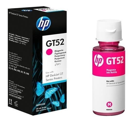 Tinta Hp Gt52 Original Deskjet Gt5820 Sist Cont C/u Color