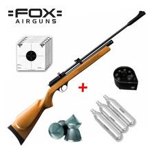 Rifle Aire Comprimido Fox Cr600 Co2 7 Tiros Garrafas Balines