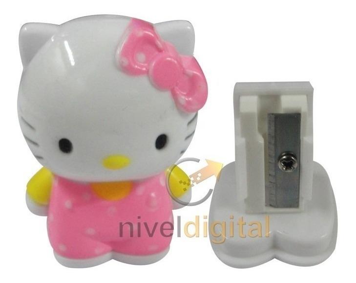 Set 24 Sacapuntas Hello Kitty Util Souvenir Cumpleaños Nena