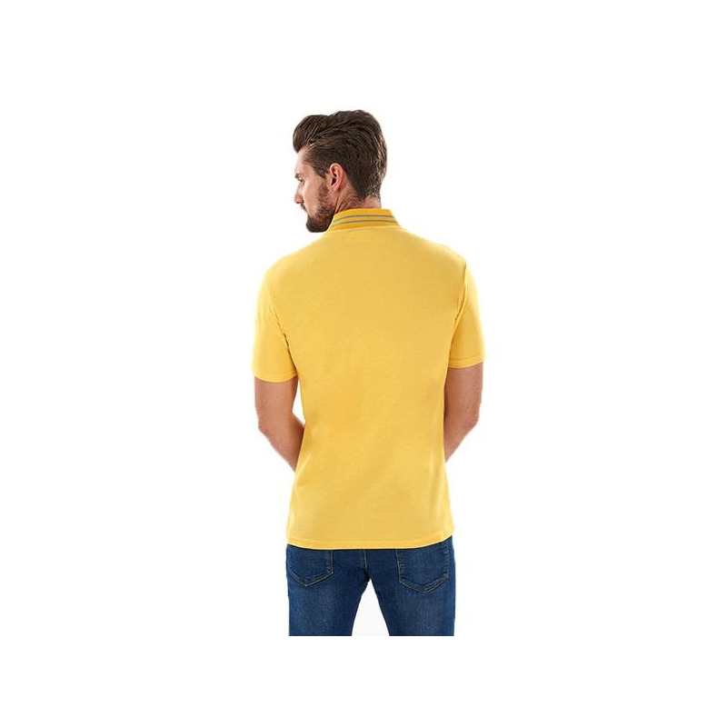 Camisa amarilla manga corta 014612P