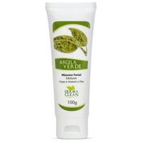 Mascara Facial Argila Verde (Esfoliante) - 100g - Dermaclean