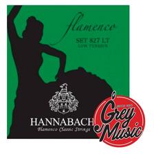 Encordado Hannabach 827lt Flamenco Low Tension Nylon