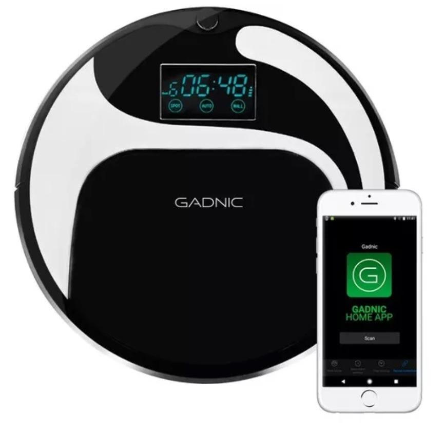 Aspiradora Robot Gadnic 3 Funciones Control Por App Mapeo