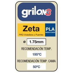 Filamento Impr 3d Pla 1.75 Grilon3 1k...