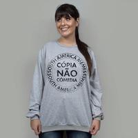 BLUSÃO CINZA - CÓPIA NÃO COMÉDIA