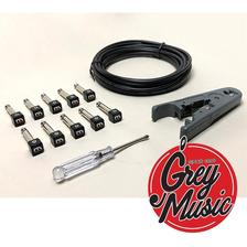 Maza Fx Kit Solderless 10 Fichas + Cable + 1 Detornillador