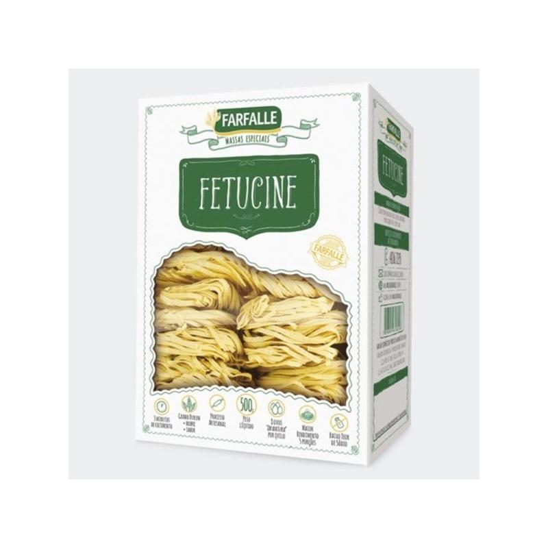 Fetucine Grano Durum com Ovos - 500g Farfalle
